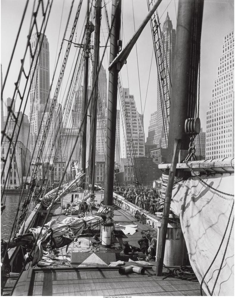 Пирс 11, Ист-Ривер, 9 апреля 1936 год.