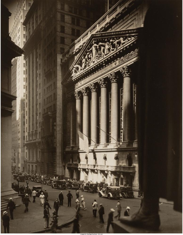Нью-Йоркская фондовая биржа, 1934 г.