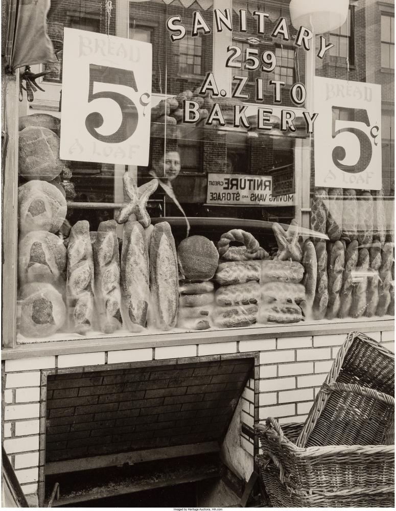 Хлебный магазин на Бликер-стрит, 259, 3 февраля 1937 г.
