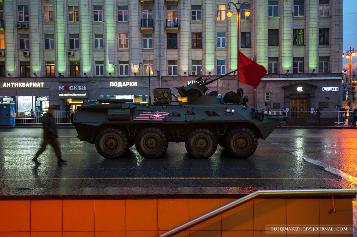 Репетиция парада Победы 2017