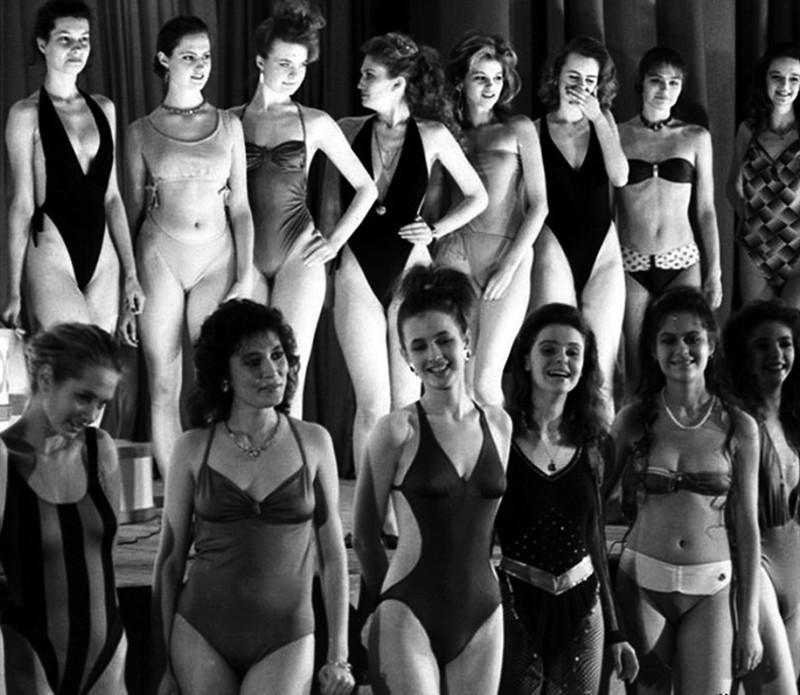 Первый и последний конкурс Мисс СССР, 1988.