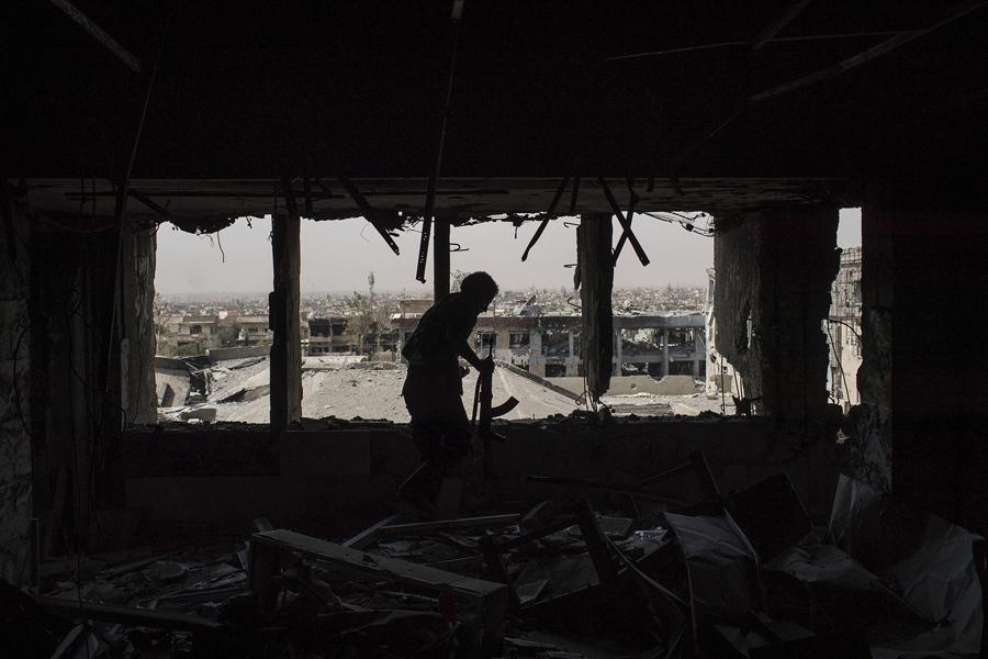 Мосул в руинах