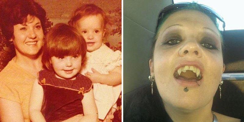 Вампирша из Австралии, которая не выходит на солнце уже 20 лет