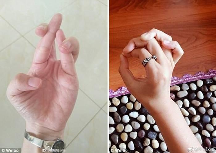 «Узел пальцами» по Китайски