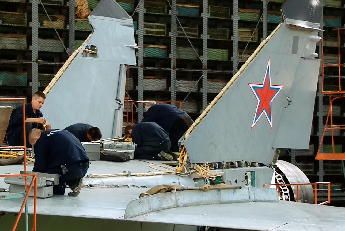 Модернизация МиГ-31 на заводе