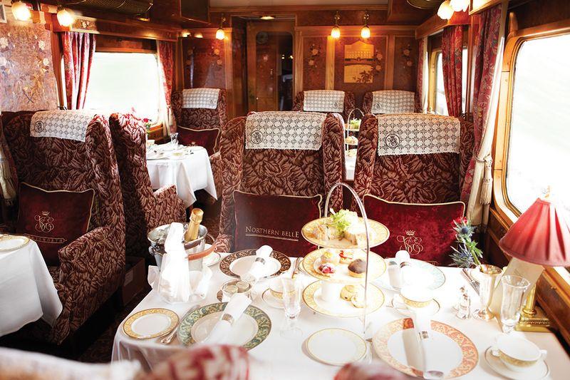 Самые роскошные туристические поезда мира