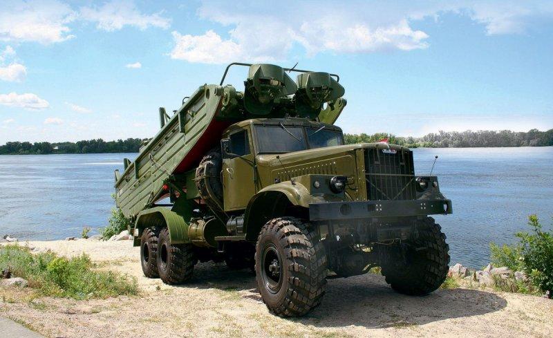 Грузовик КрАЗ-255Б