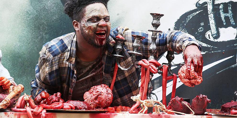 Парк развлечений в Лондоне с живыми мертвецами