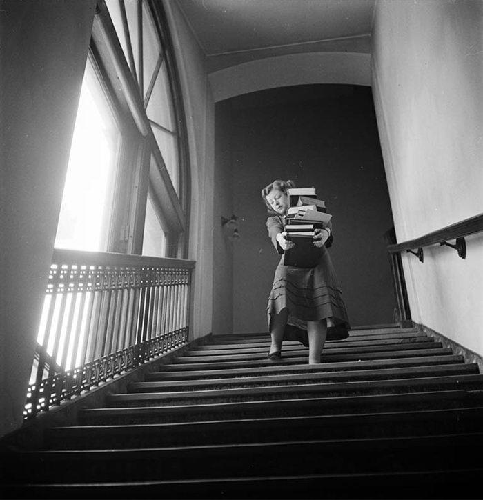Фотографии Нью-Йорка 1940-х годов от Стэнли Кубрика