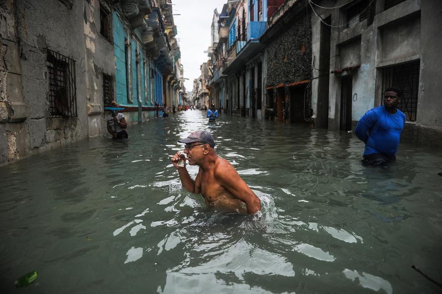 Ураган «Ирма» обрушился на Север Кубы