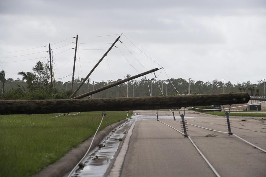 Фотографии разрушений урагана «Ирма» во Флориде