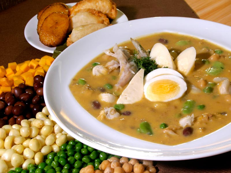 """Эквадорский суп """"Фанеска"""""""