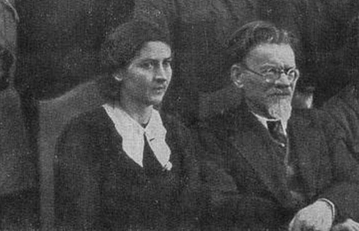 Катерина Калинина с мужем.