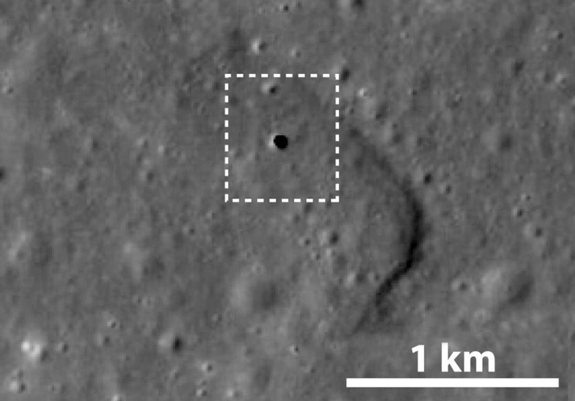 Японцы нашли на Луне гигантскую пещеру