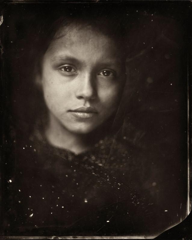 Портреты детей на камеру XIX века