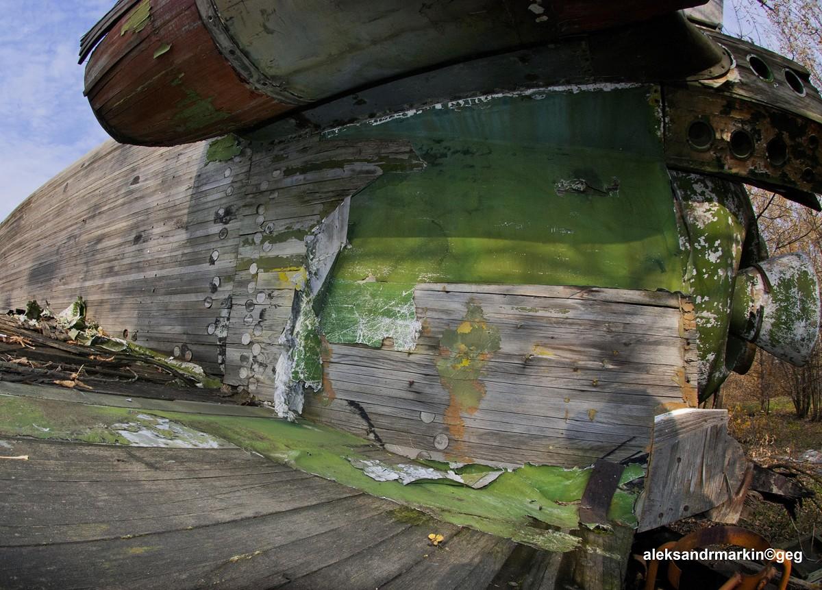 Деревянный шаттл Буран