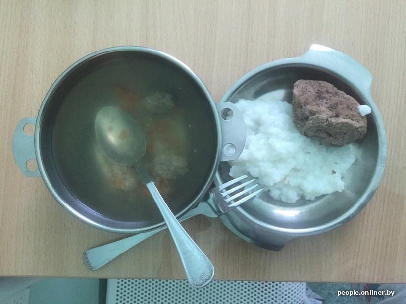 Чем кормят в белорусских больницах