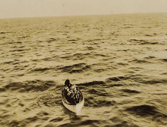 Редкие фото спасения пассажиров «Титаника» выставят на аукцион