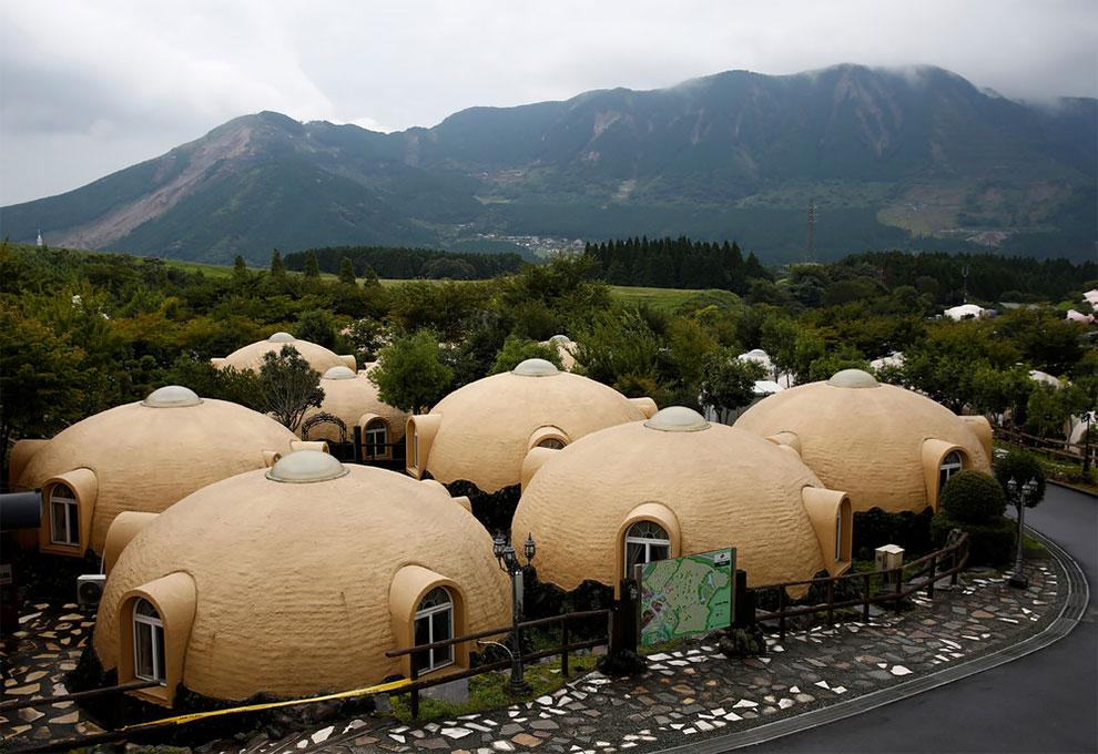 В Японии строят дома устойчивые к землетрясениям