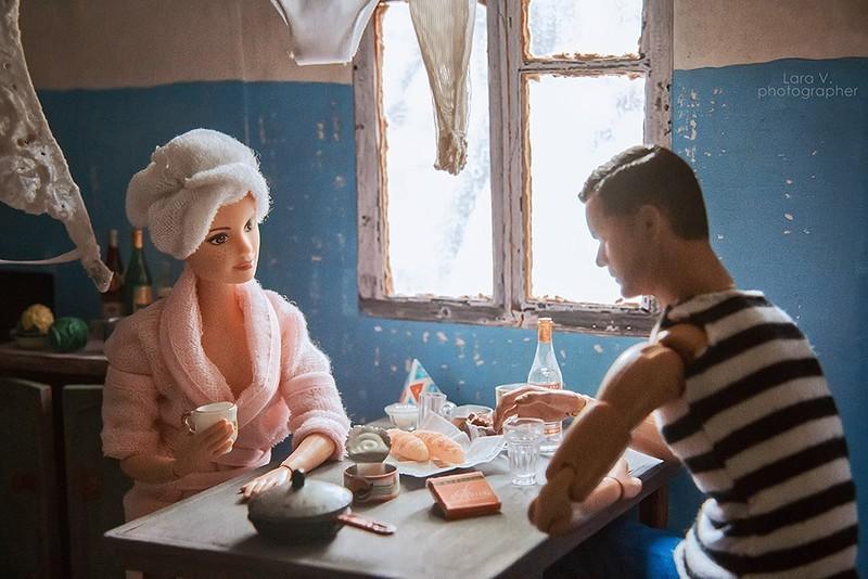 Миниатюра: Если бы Кен и Барби жили в СССР