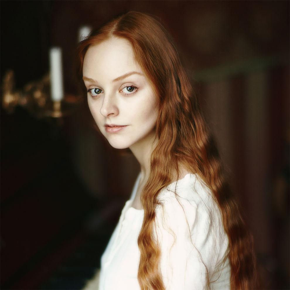 «Рыжие»: Замечательные фотопортреты Эрики Парфеновой