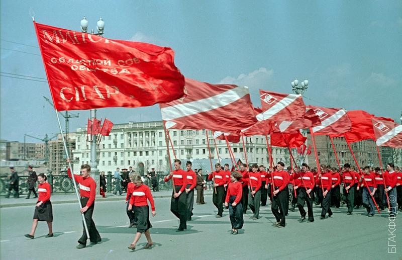 Фотографии советского Минска в 1950-е годы