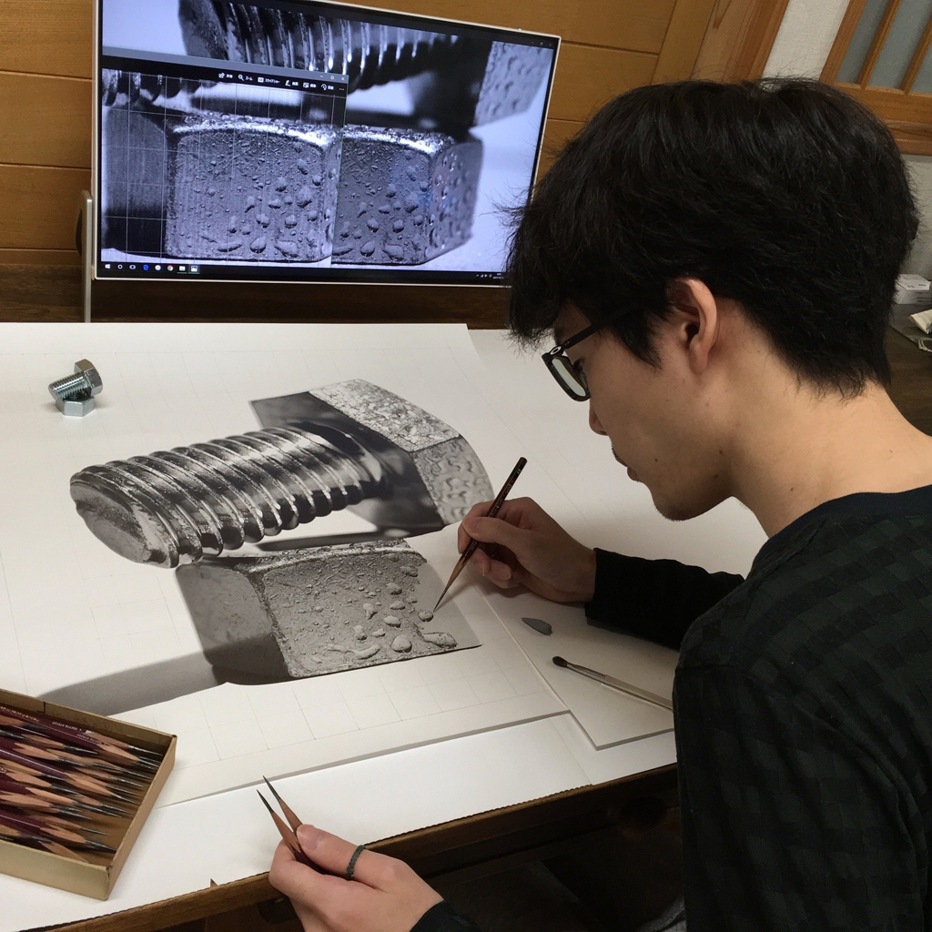 Гиперреалистичные рисунки карандашом Кохея Омори
