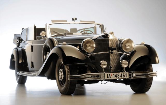 На продажу выставлен парадный Mercedes Гитлера