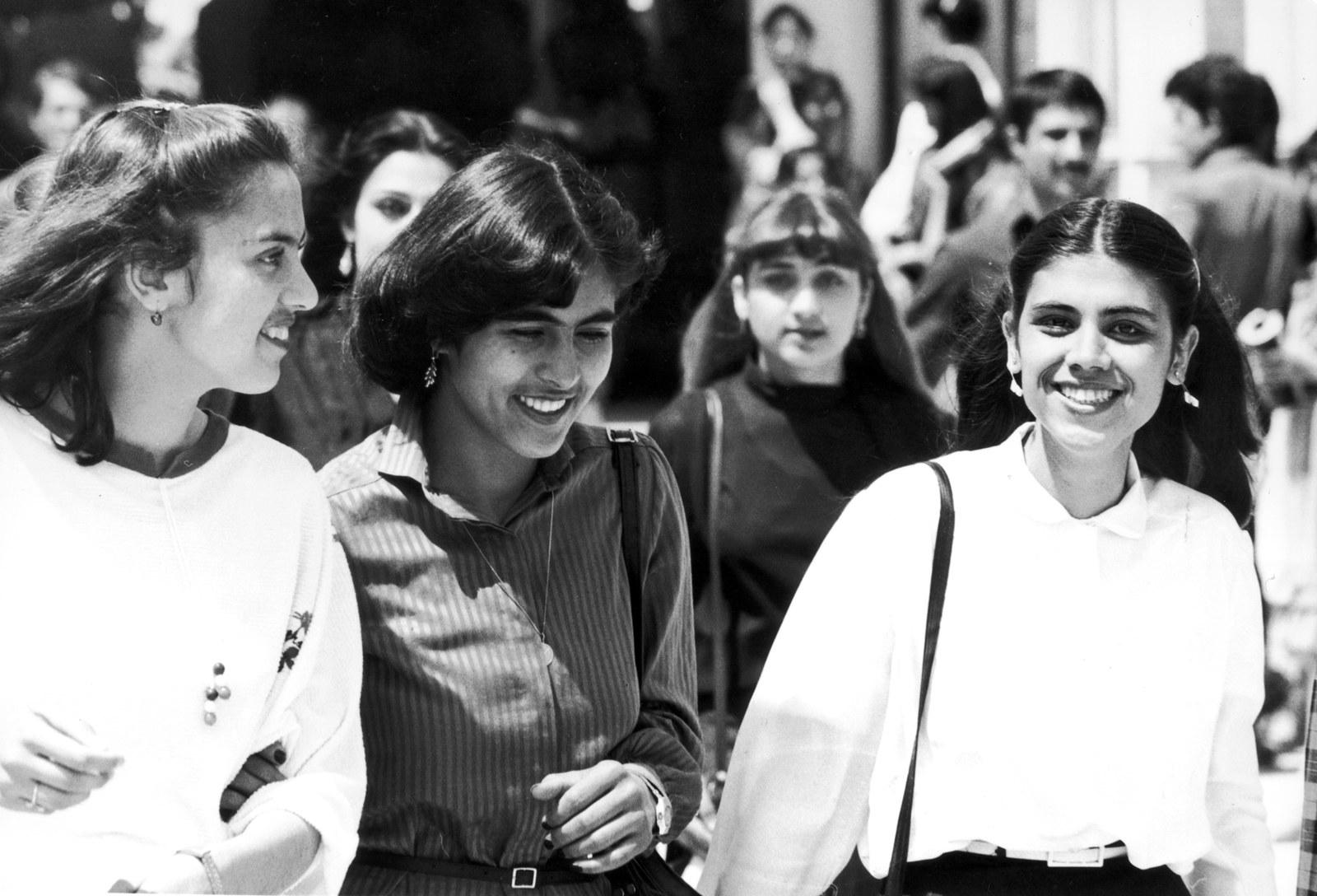 Студенты университета Кабула, 1975
