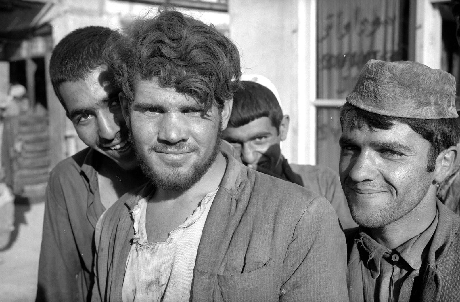 Жители Афганистана, 1970г.