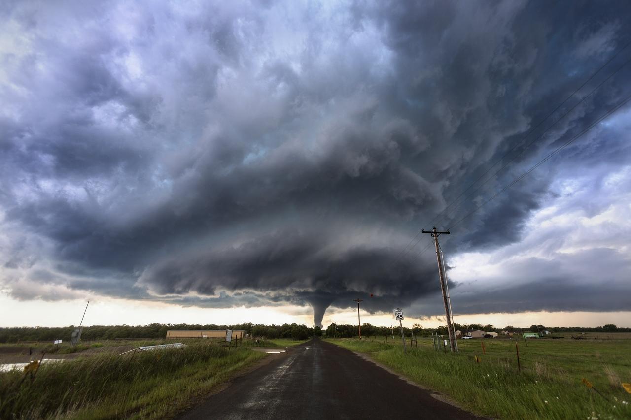 А этот торнадо в штате Оклахома — F4