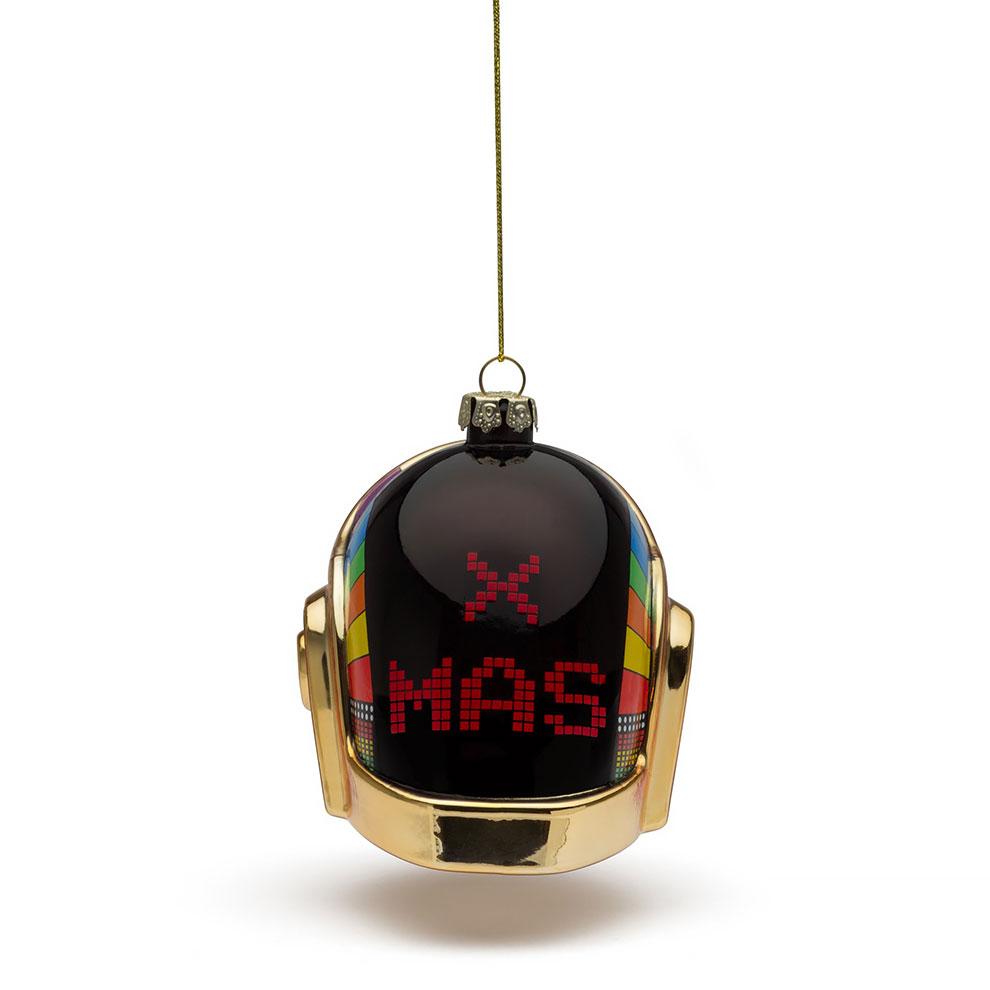 Музыканты из Daft Punk выпустили ограниченную коллекцию ёлочных игрушек