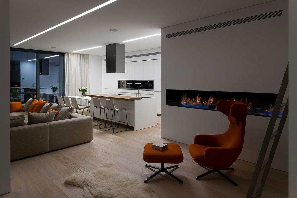 Современная квартира в Киеве