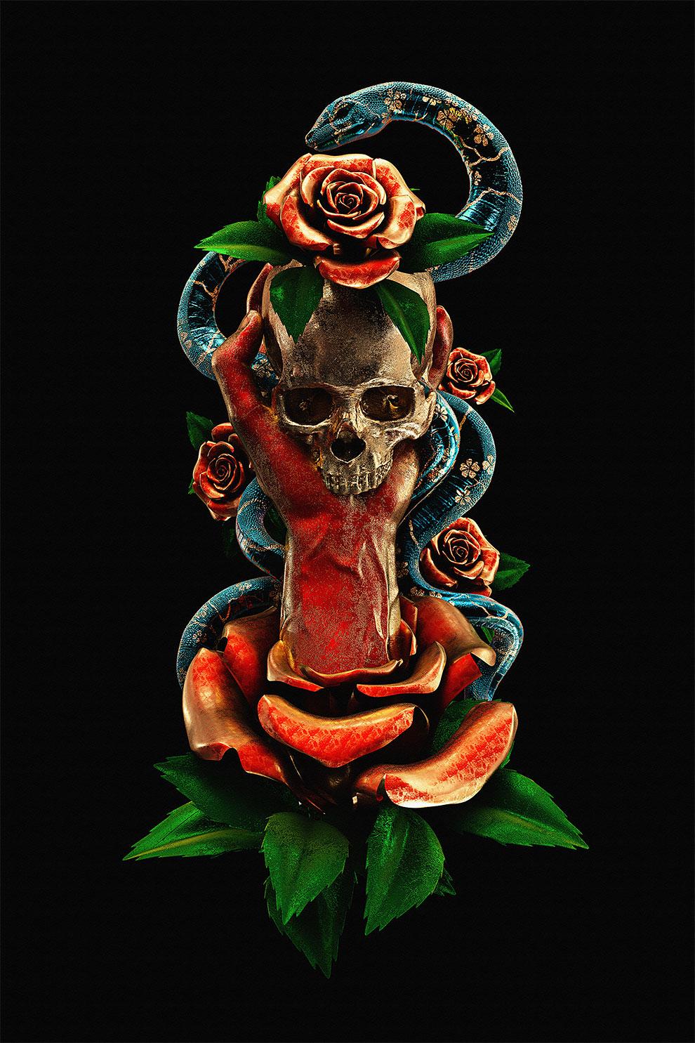 Татуировки как 3D-картины