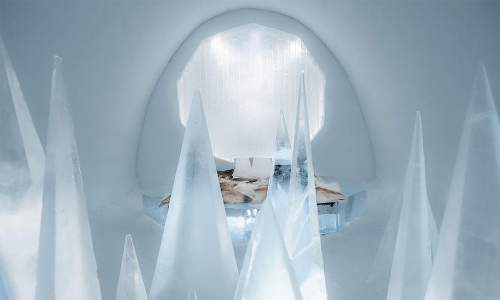 Ледяной отель IceHotel в Швеции