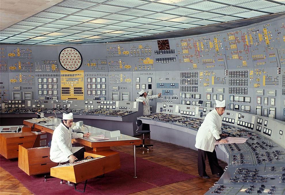 Фотографии советских БЩУ