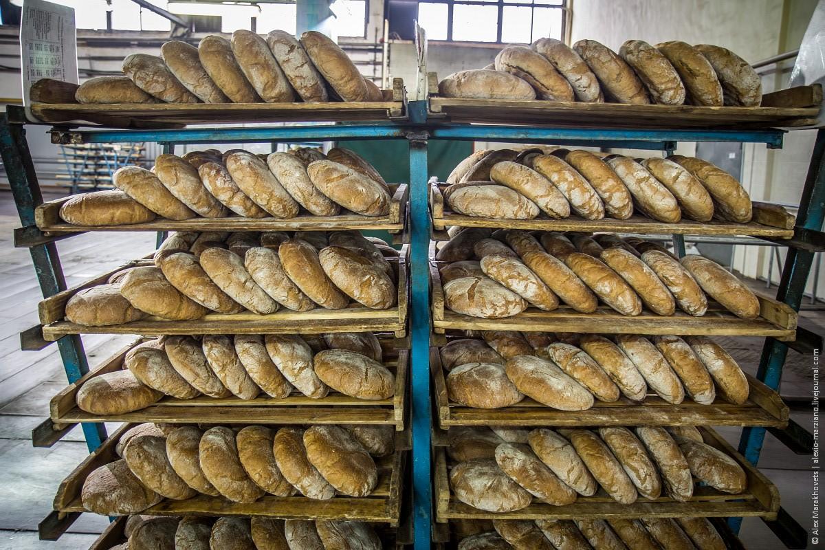Как пекут хлеб на Ульяновском хлебозаводе №3