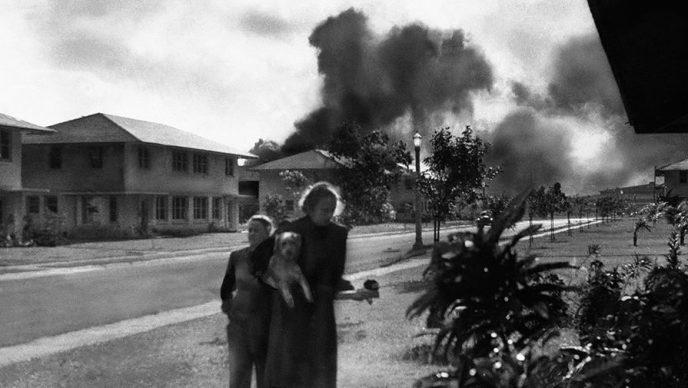 10 исторических фото о нападении на военную базу США Пёрл-Харбор