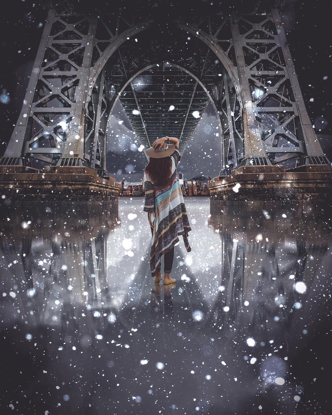Красивейшие фотоманипуляции Стэна Уэсли
