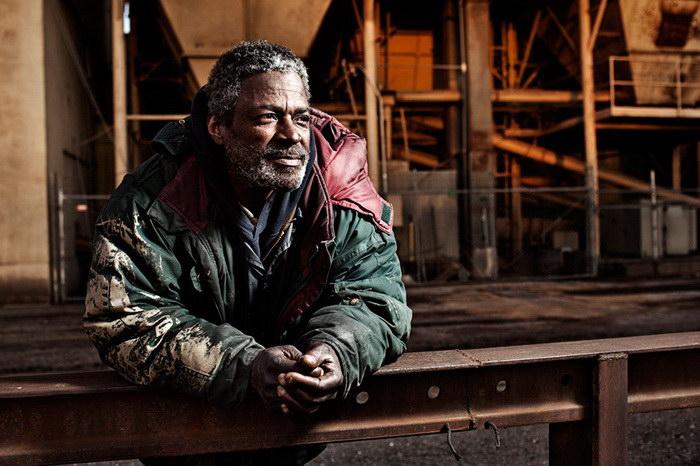 Фотографии бездомных жителей США на снимках Аарона Дрейпера