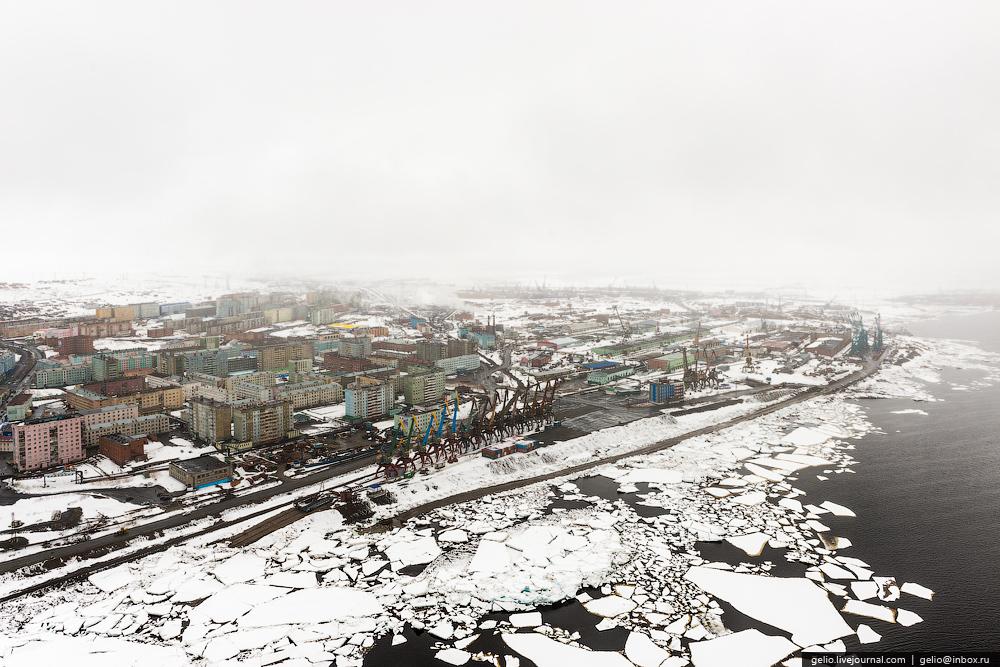 Норильск с высоты