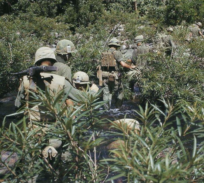 Цветные фотографии войны во Вьетнаме