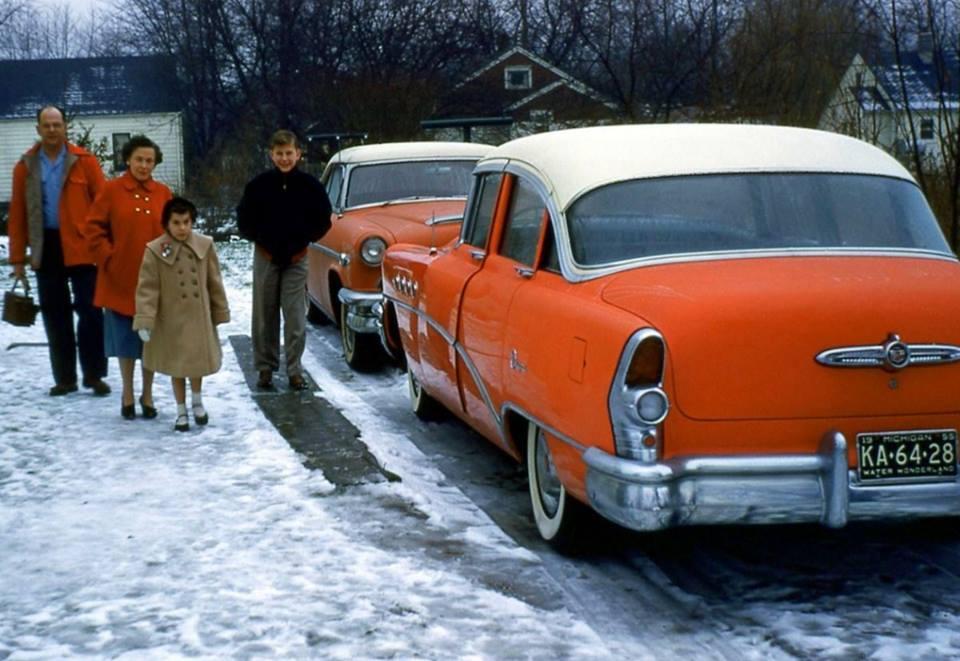 Семья, Мичиган, 1955 год