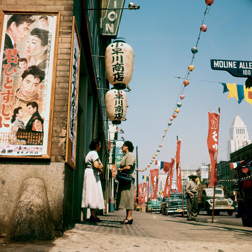 Маленькое Токио в Лос-Анджелесе, 1954 год.