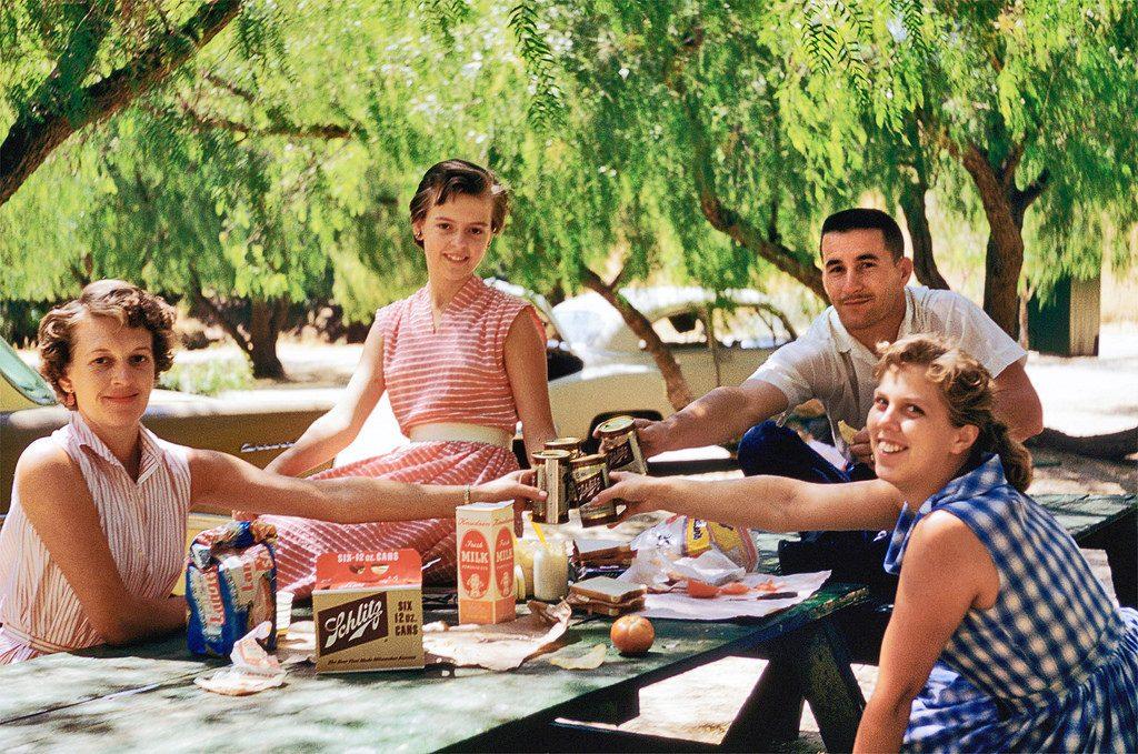 Пикник в Калифорнии, 1959 год