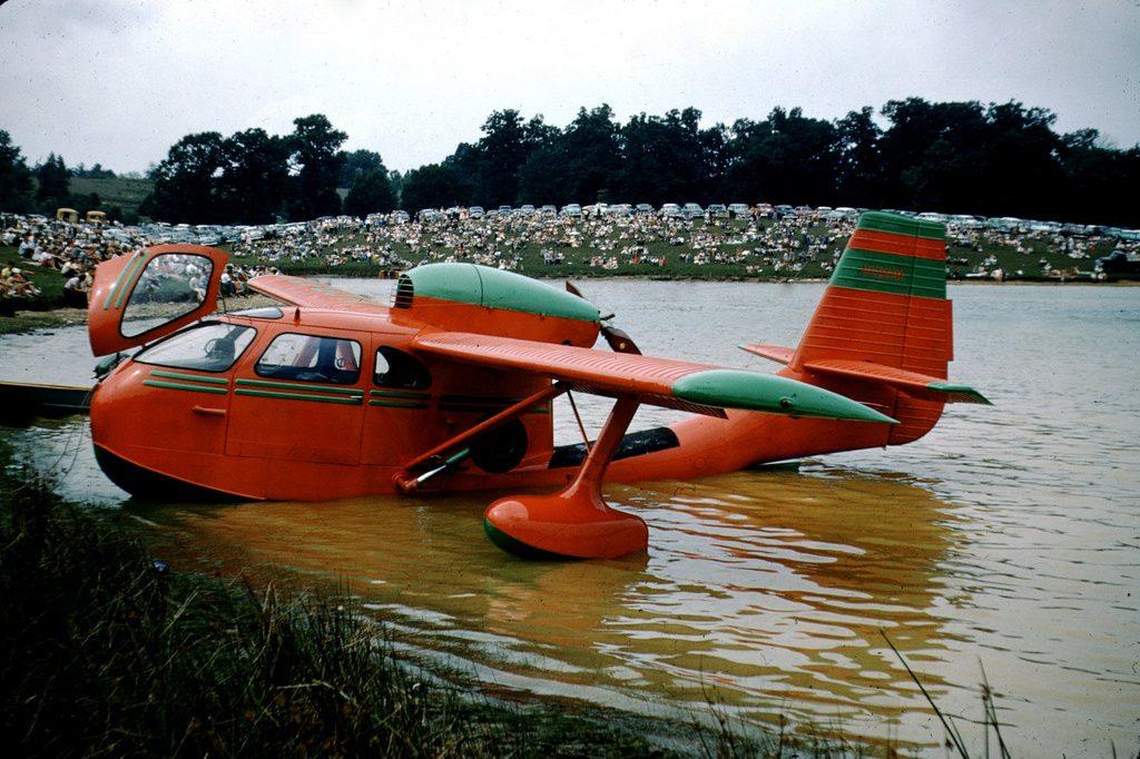 Летающая лодка на фестивале в Вирджинии, 1955 год
