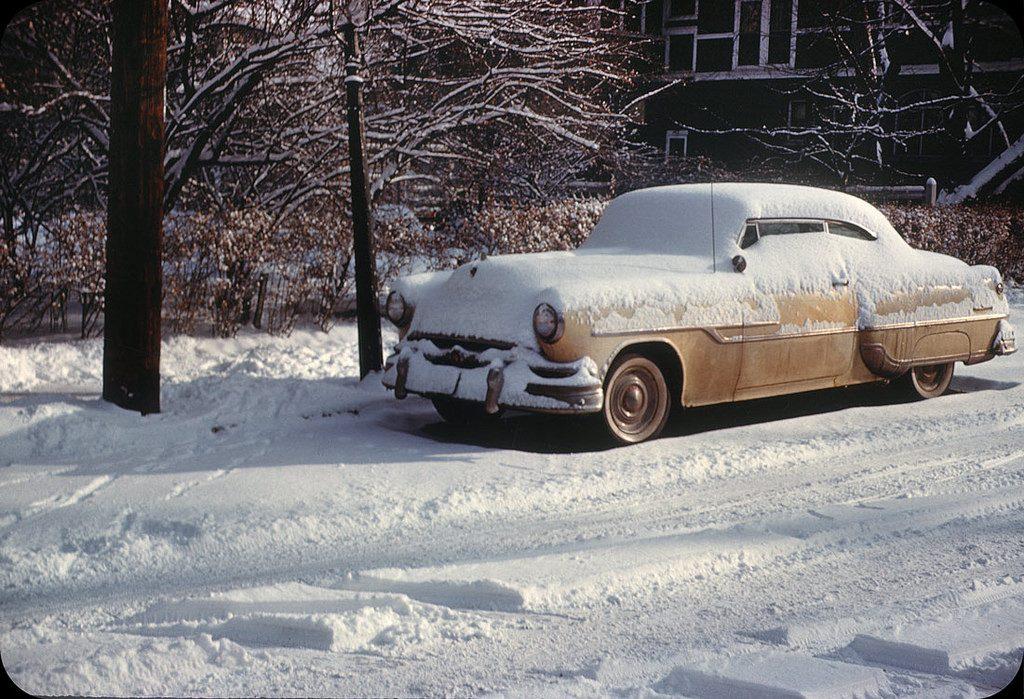 После снегопада. Огайо, 1958 год