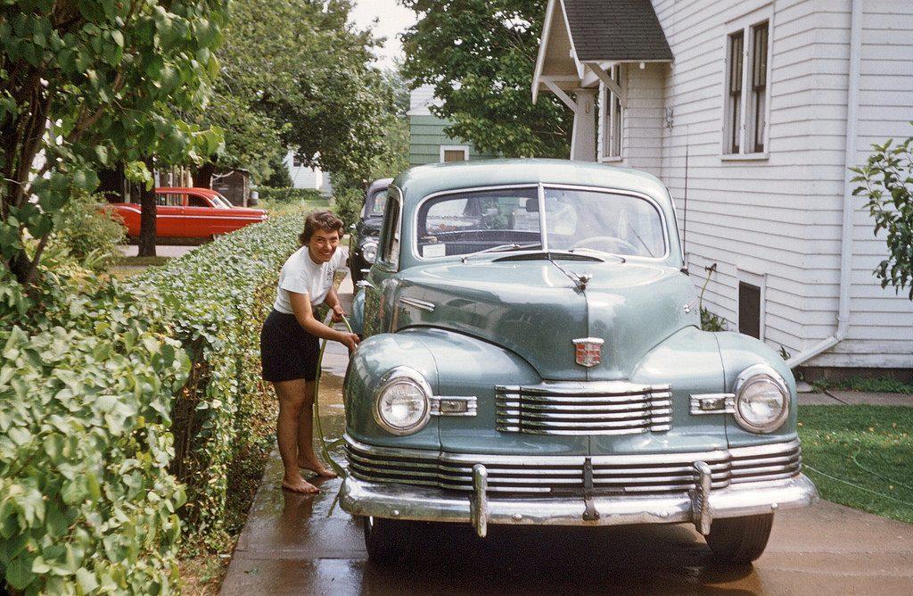 Мойка машины, 1955 год