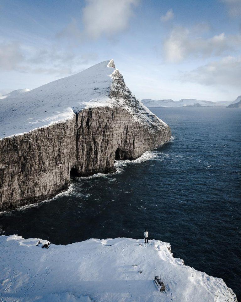 Фарерские острова с высоты