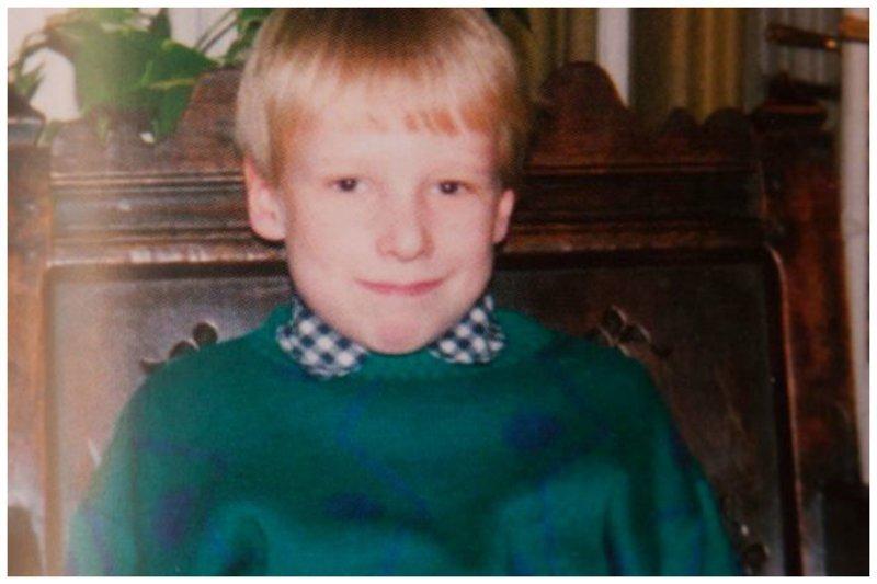 Детское фото норвежца Андерса Брейвика, обвиненного в убийстве 77 человек